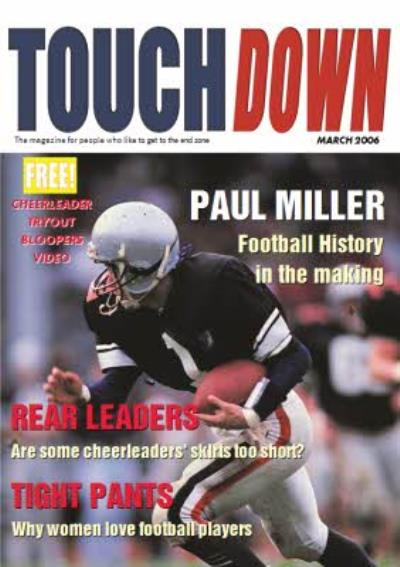 Touchdown Magazine Football History In The Making Personalised Card