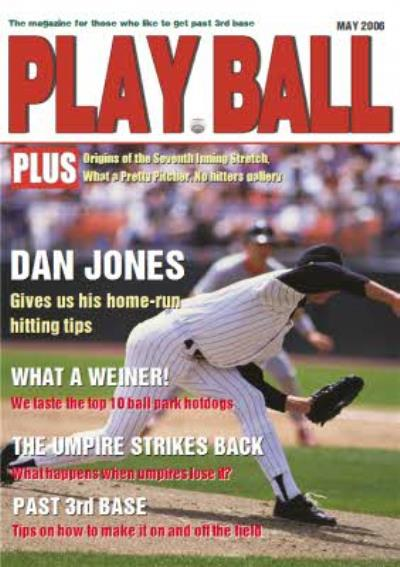 Play Ball Magazine Personalised Card