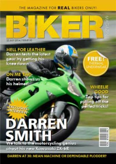 The Magazine For Real Bikers Only Personalised Card