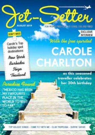 Jet-Setter Magazine Personalised Card