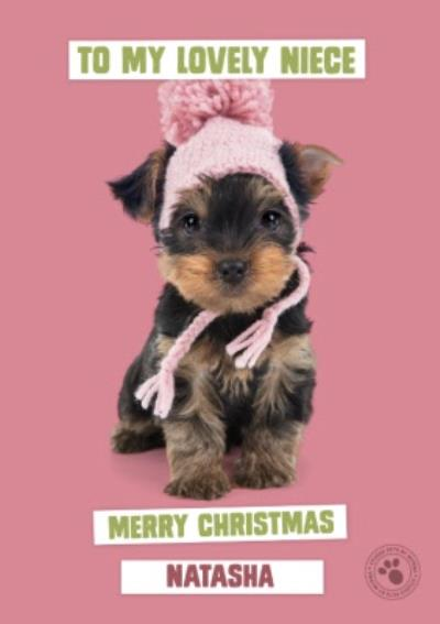 Studio Pets To My Lovely Niece Merry Christmas