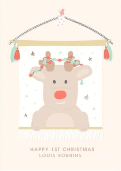 Cute Babies First Christmas Card