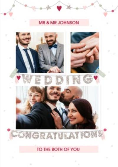 Wedding Congratulations Photo Upload Wedding Card