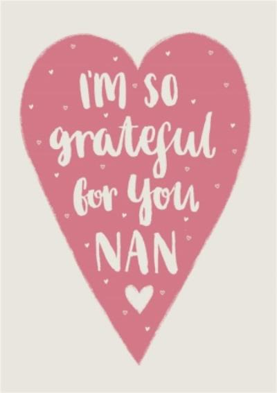 Mother's Day card - Nan