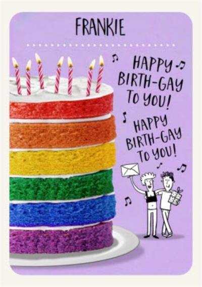Happy Birth Gay Card