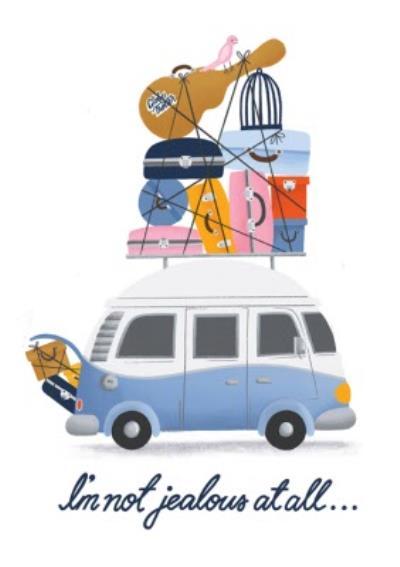 Leaving Fun Roadtrip Campervan Card