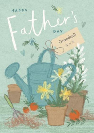 Illustrated Garden Father's Day Card
