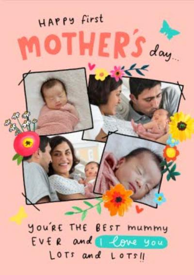 Happy First Mothers Day Photo Upload Card