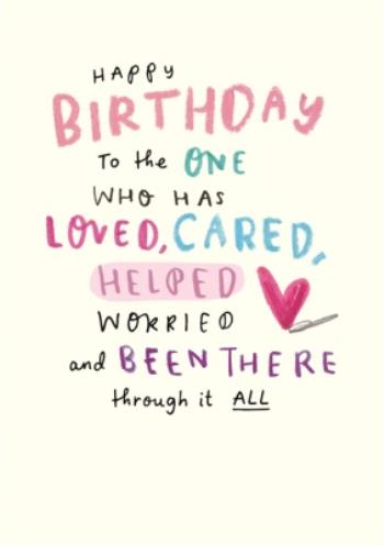 Outstanding Happy Birthday Card Mum Sentimental Thank You Mum Photo Personalised Birthday Cards Bromeletsinfo