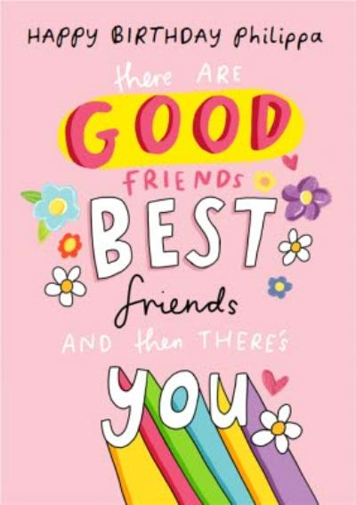 Emily Coxhead The Happy News Good Friend Best Friends Birthday card