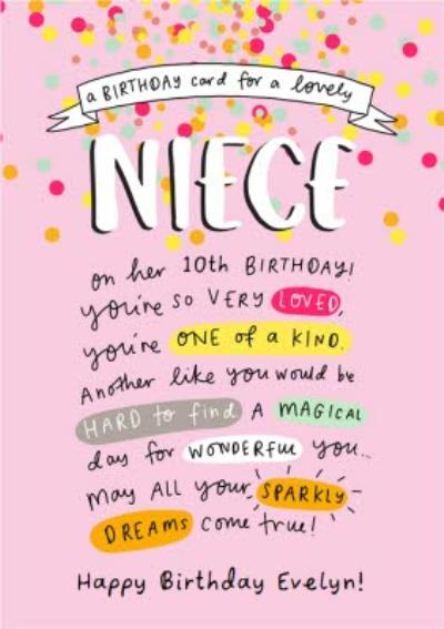Emily Coxhead Emily Coxhead The Happy News A Birthday Card for a lovely Niece