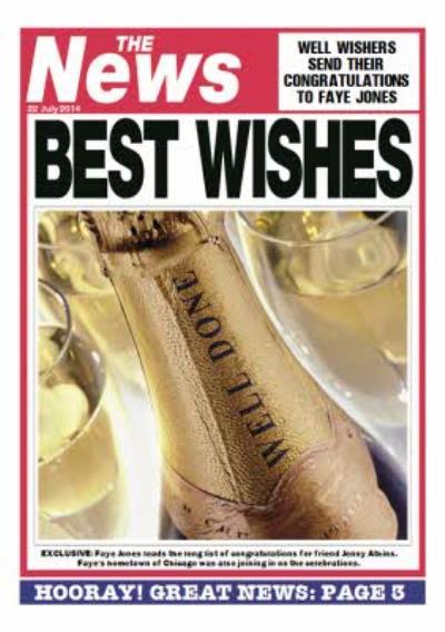 Congratulations Card - Magazine Parody