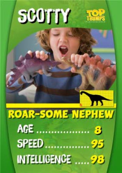Top Trumps Special Niece Photo Upload Birthday Card