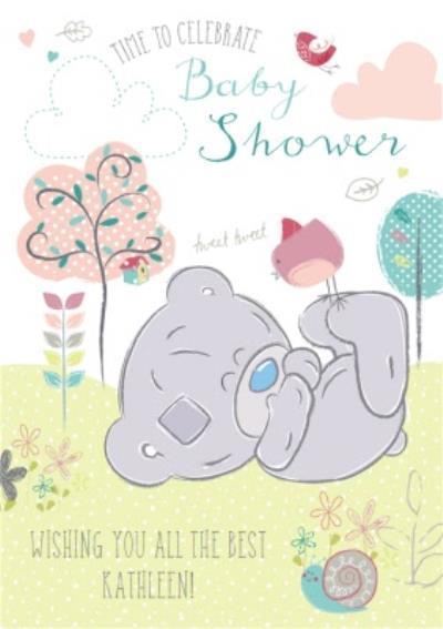 Tatty Teddy Baby Shower Card