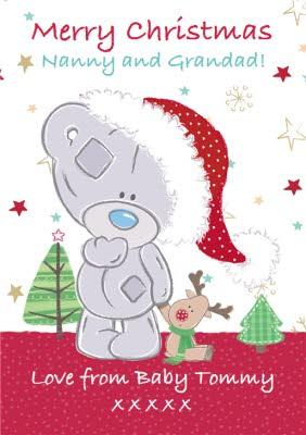 Greeting Cards Granny & grandad Christmas Cards   Moonpig