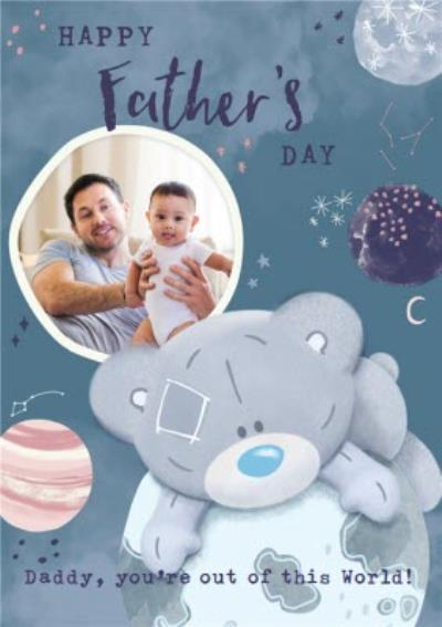 Me To You Tiny Tatty Teddy Space Father's Day Card