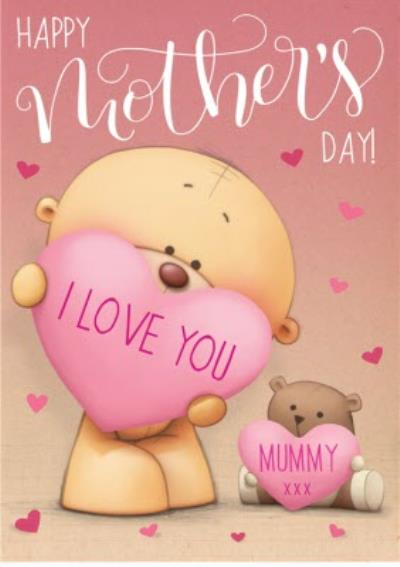 Mother's Day Card - Cute Card - Uddle