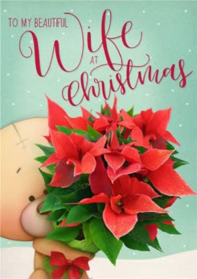 Uddle Christmas Card To My Beautiful Wife At Christmas