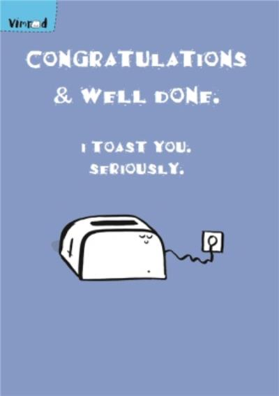 Funny Well Done Card