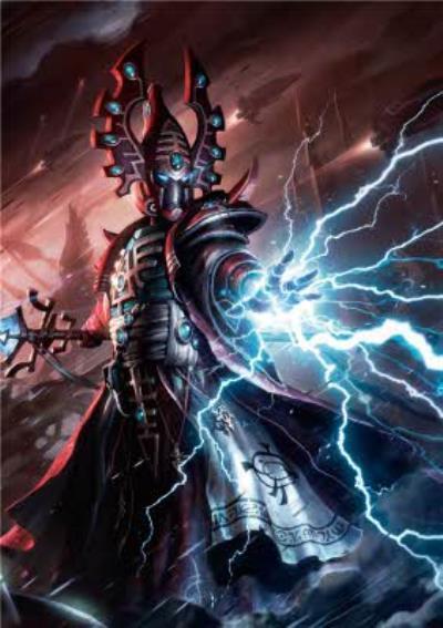 Warhammer Eldari Farseer Card