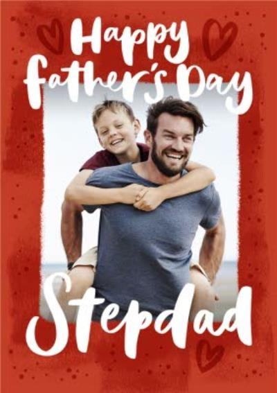 Photo Upload Stepdad Father's Day Card