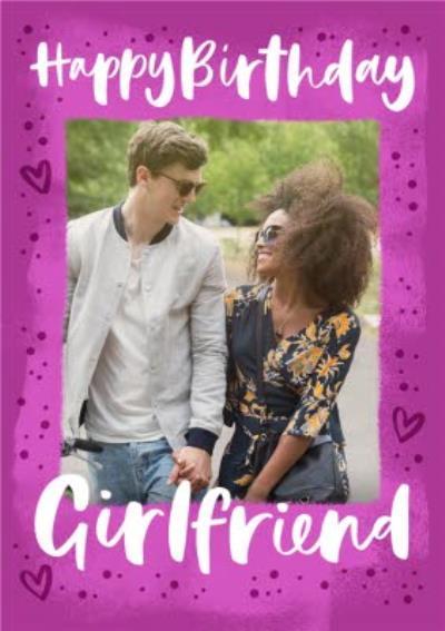 Photo Upload Happy Birthday Girlfriend Card