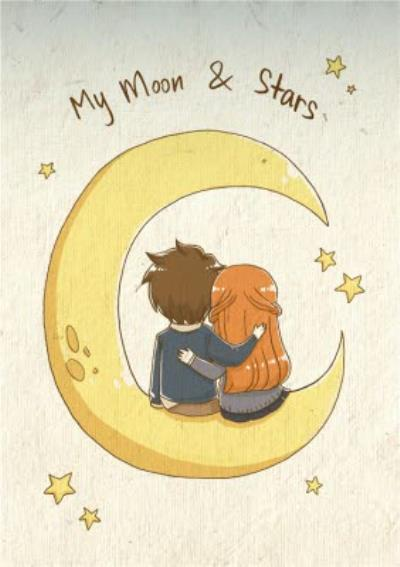 Weatherly My Moon And Stars Card