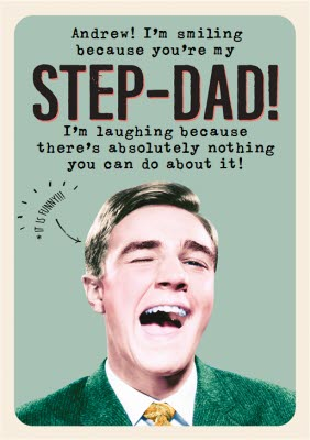Silly Step-Dad Cards Father/'s Day Card I/'m So Glad Mom Picked You...Good Choice Mom! Funny Step-Father/'s Day Cards