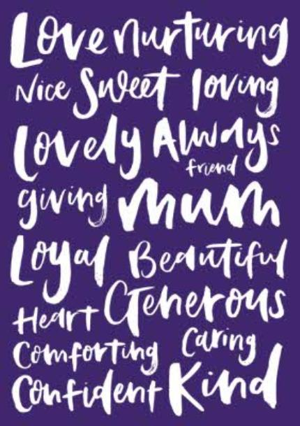 T-Shirts - All The Nice Things To Say Personalised T-Shirt For Mum - Image 4