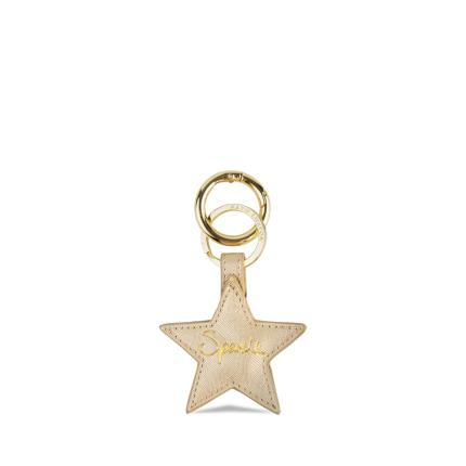 Jewellery & Accessories - Katie Loxton Gold Star Keyring - Image 1
