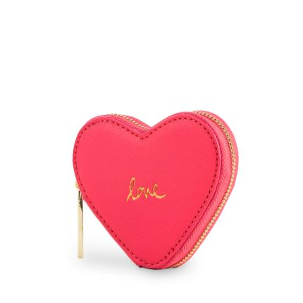 Jewellery & Accessories - Katie Loxton Pink Love Heart Coin Purse - Image 1