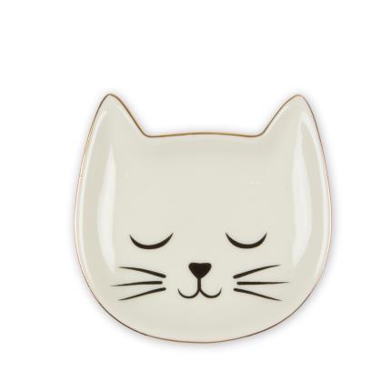 Jewellery & Accessories - Cat Face Trinket Dish - Image 1