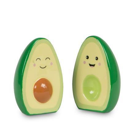 Jewellery & Accessories - Happy Avocado Salt & Pepper Set - Image 1