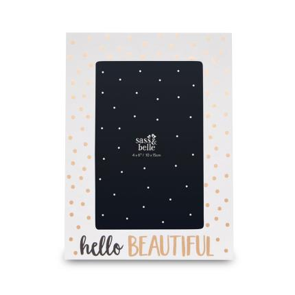 Jewellery & Accessories - Hello Beautiful Photoframe - Image 1