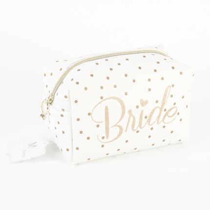 Gadgets & Novelties - 'Always & Forever' Cosmetic Bag - Bride - Image 1