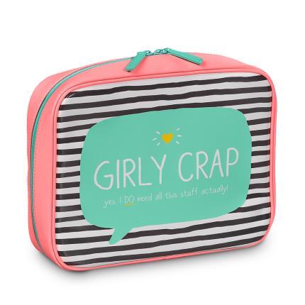 Jewellery & Accessories - Happy Jackson Girly Crap Travel Bag - Image 2