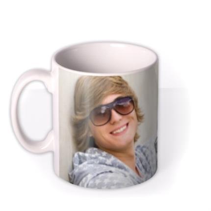 Mugs - Number One Brother Photo Upload Mug - Image 1