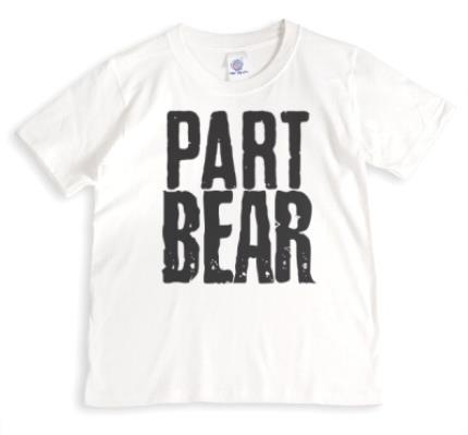 T-Shirts - Part Bear Personalised T-Shirt - Image 1