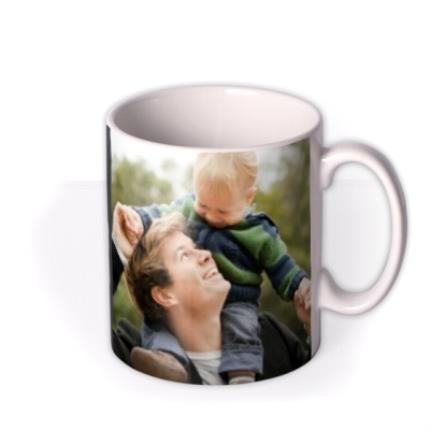 Mugs - Father's Day Chief Photo Upload Mug - Image 2