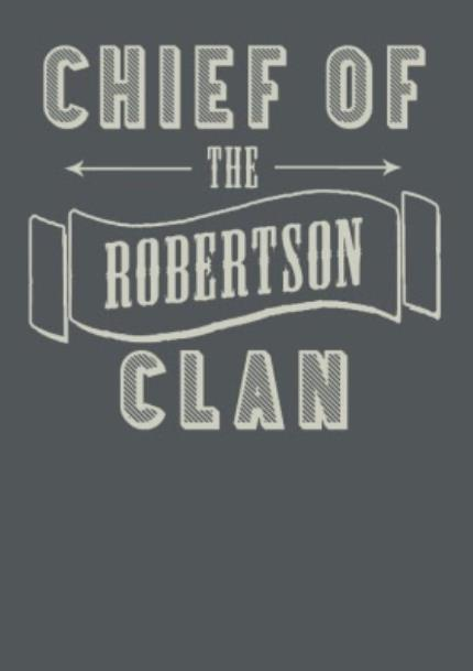 T-Shirts - Father's Day Clan Chief Personalised T-Shirt - Image 4