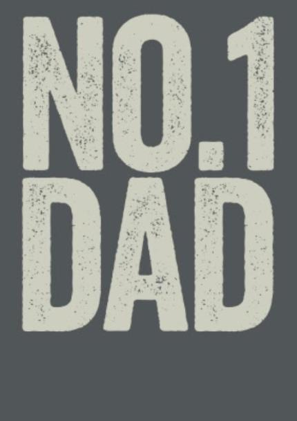 T-Shirts - Father's Day No.1 Dad Personalised T-shirt - Image 4