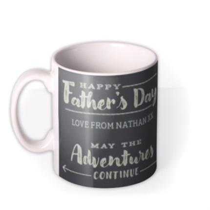 Mugs - Let The Adventures Continue Happy Father's Day Mug - Image 1