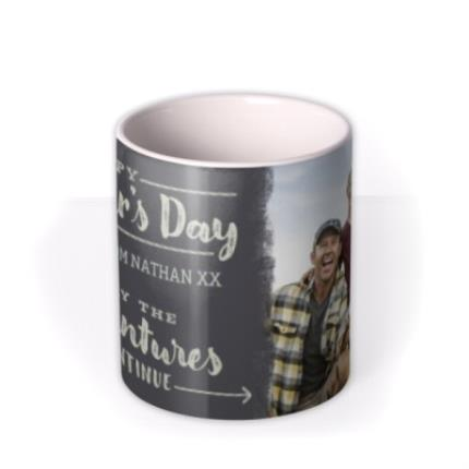 Mugs - Let The Adventures Continue Happy Father's Day Mug - Image 3