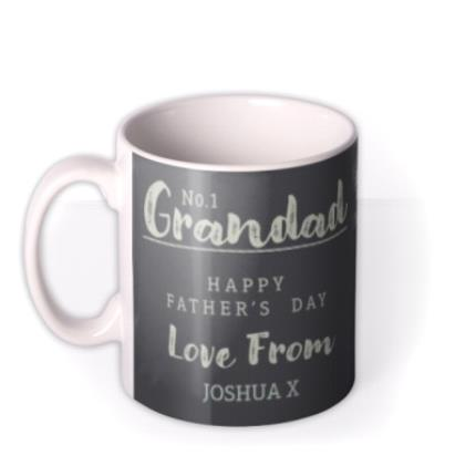 Mugs - Number One Grandad Happy Father's Day Mug - Image 1