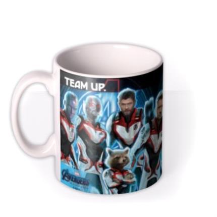 Mugs - Marvel The Avengers Save The World Birthday Mug - Image 1