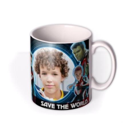 Mugs - Marvel The Avengers Save The World Birthday Mug - Image 2