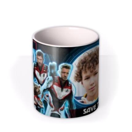 Mugs - Marvel The Avengers Save The World Birthday Mug - Image 3