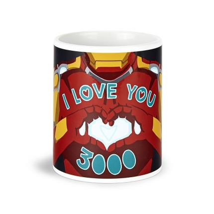 Gadgets & Novelties - Iron Man 'I Love You' Mug - Image 1