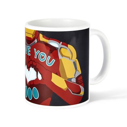 Gadgets & Novelties - Iron Man 'I Love You' Mug - Image 3