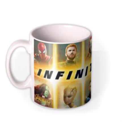 Mugs - Birthday mug - The Avengers Infinity War - Marvel - Superhero - Photo upload mug - Image 1